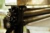 Pressa per produrre i sottili fogli di gomma, Amazzonia © giorgio cossu.jpg