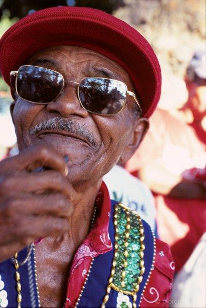 """Mestre Ze Duda durante """"A Chamada"""" © giorgio cossu.jpg"""