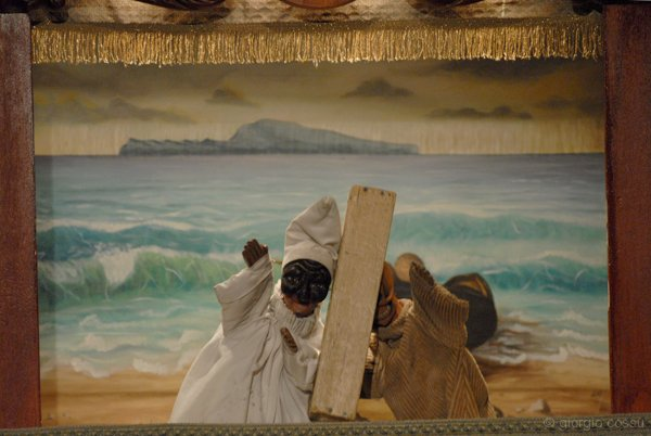 Pulcinella e la Morte di Gaspare Nasuto © giorgio cossu