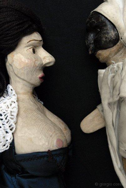Pulcinella e Teresina di Gianluca di Matteo © giorgio cossu