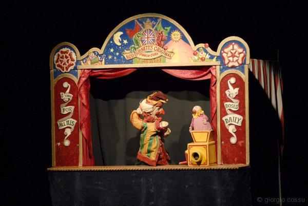 The Punch & Judy Show di Rod Burnett allo Schaubude Berlin © giorgio cossu