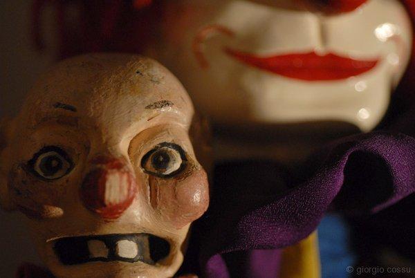 The Baby di Rod Burnett e clown di Glynn Edwards © giorgio cossu